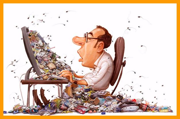 Почистить от мусора