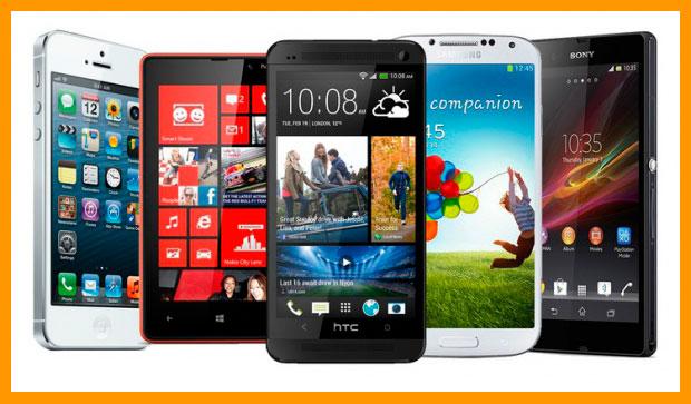Копирование на мобильных телефонах