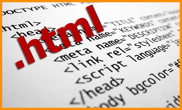 Расширение html