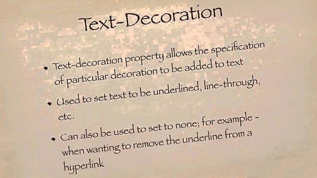 text-decorashion