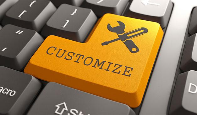 Customize