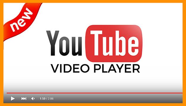 Youtube видеоплеер
