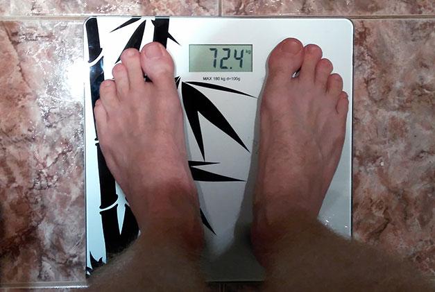 Мой вес спустя 2 месца диеты