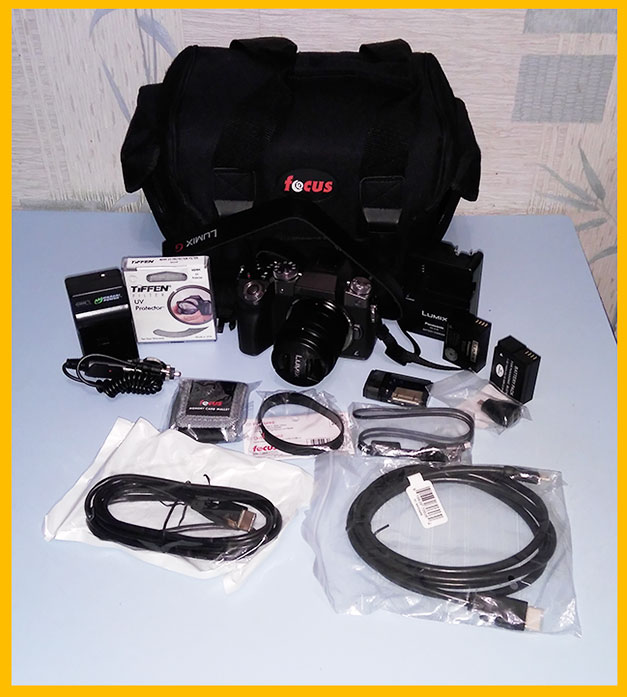 Мой комплект фотокамеры