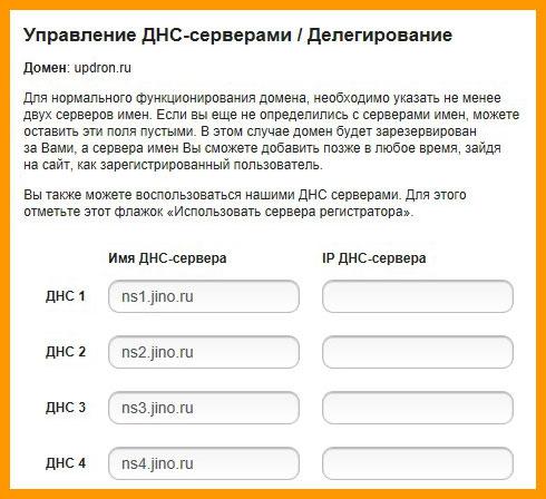 dns для сайта